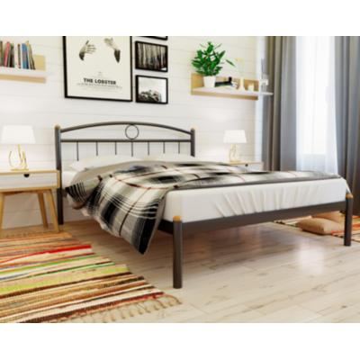 Кованая (металлическая) кровать Люмия