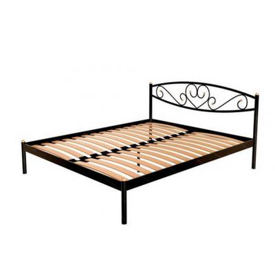 Кованая (металлическая) кровать Магнолия