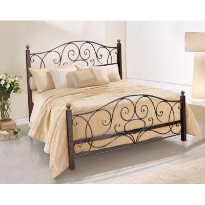 Кованая (металлическая) кровать Виктория