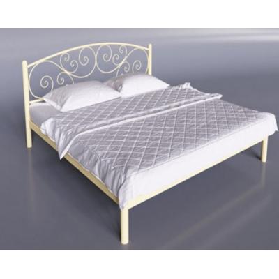 Кованая (металлическая) кровать Лилия