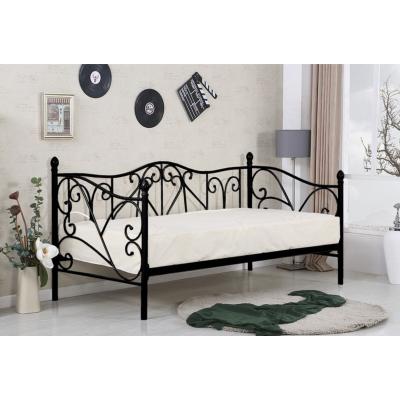 Кованая (металлическая) кровать Sumatra (черная)