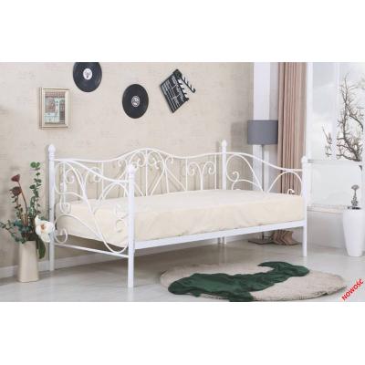 Кованая (металлическая) кровать Sumatra (белая)